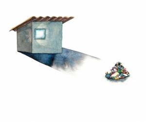 colorful presence - Aquarelle sur papier - 20X30 cm - 2019
