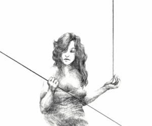 Le sens aigu - Graphite sur papier - 30X40 cm - 2019